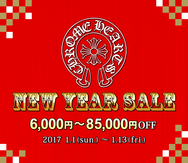 CHROME HEARTS NEW YEAR SALE