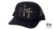 クロムハーツ chromehearts 3セメタリーキャップ ブラック ブラック