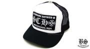 クロムハーツ chromehearts トラッカーキャップ CH ブラック ホワイト